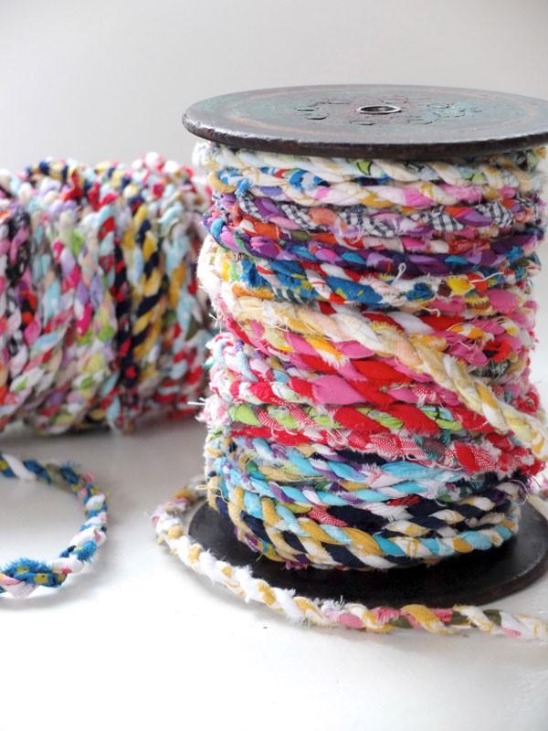 Make fabric twine