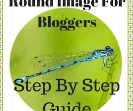 How To Make A Round Image For Blogger About Me Page