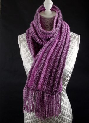 Free Crochet Scarf Pattern Very Easy To Make For Beginners