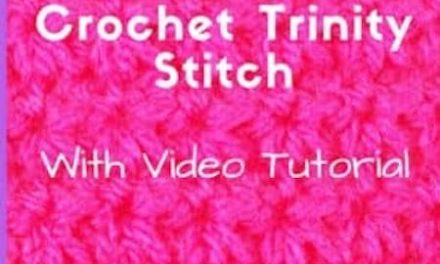 Trinity Stitch Crochet Tutorial With Video