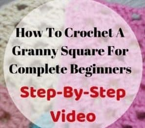 How To Crochet A Granny Square For Beginners