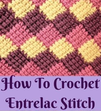 entrelac crochet pattern