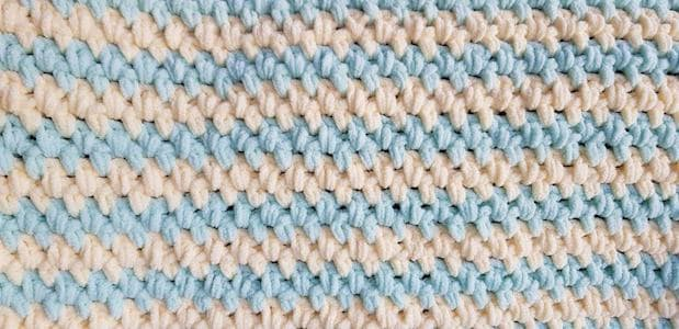quick and easy crochet baby blanket pattern 3