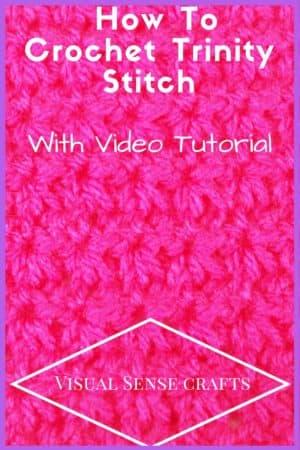 trinity stitch crochet