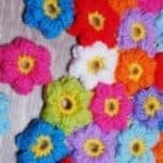 How To Crochet Puff Flowers